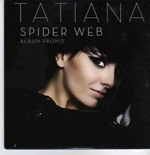 (DA25) Tatiana, Spider Web - 2011 DJ CD