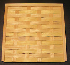 1:12 Scale Natural Finish Wattle Fence Wooden Panel Tumdee Dolls House Garden