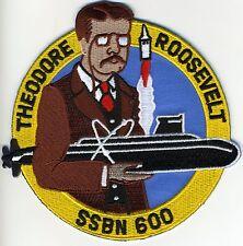 USS Theodore Roosevelt SSBN 600 Submarine Crest - b335