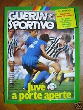 GUERIN SPORTIVO 1985 N.40 - ITALIA-NORVEGIA , FOGGIA