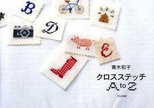 Kazuko Aoki Cross Stitch A to Z - Japanese Craft Book