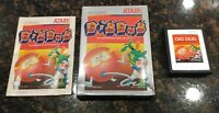 Dig Dug (Atari 2600, 1983) Tested Complete Fast Free Shipping CIB