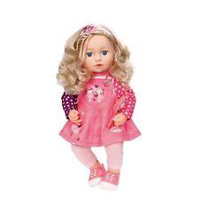 Zapf Creation Baby Annabell Sophia So Soft Doll Toy Playset & Hairbrush Blonde