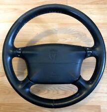Porsche 911 986 Boxster 996 Carrera 4 Spoke Black Tiptronic Steering Wheel & Bag