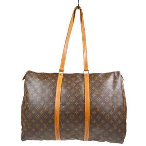 LOUIS VUITTON FLANERIE 50 TRAVEL SHOULDER BAG PURSE MONOGRAM M51116 NO0961 72068
