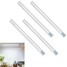 4x USB Charge Cupboard LED Strip Light Touch Switch Under Cabinet Home Kitchen