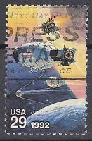 USA Briefmarke gestempelt 29c Weltraum Space / 992