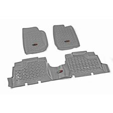 Fußschalen Floor Liner grau Jeep Wrangler JK 07-18 4-Türer Rugged Ridge14987.01