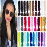 "24"" Ombre Dip Dye Kanekalon Jumbo Braid Hair Extensions Best Quality Fiber Braid"