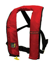 REVERE COMFORT MAX INFLATABLE PFD - RED FREE SHIPPING