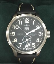 ZENO OS Pilot Dual Time Big Date Automatic SO TT/651 Model REF. 8651