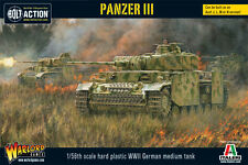 WARLORD GAMES BOLT ACTION NUOVO CON SCATOLA PANZER III wgb-wm-510