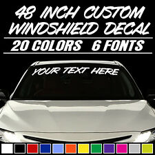 2.5 inch by 38 inch Window Decal. Emblem Sticker Different Colors Nissan Titan Windshield Banner Decal 6 to 8 Year Outdoor Life Graphic
