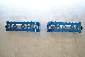 KKT Lightning BMX Pedals Blue