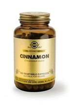 Solgar, Cinnamon Vegetable Capsules, 100