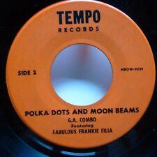 Fabulous FRANKIE FILIA 45 Polka Dots and Moon Beams / Wild One TEMPO rocker j154