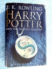 HARRY  POTTER  AND  THE  DEATHLY  HALLOWS   BY J,K,ROWLING HARD COVER
