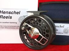 HENSCHEL DUAL MODE # 4, 10-13, saltwater fly reel  = Anti Reverse + Direct Drive