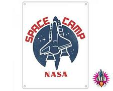 NASA SPACE CAMP A5 METAL WALL SIGN PLAQUE