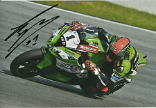 Tom Sykes Hand Signed Kawasaki Racing 2014 12x8 Photo WSBK.