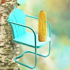 Deco Retro green Lawn Chair Squirrel Feeder