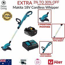 Makita LXT 18V Cordless Line Trimmer 3Ah Battery & Charger kit Garden Whipper