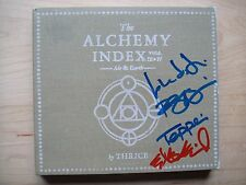 Thrice - Alchemy Index III & IV Air & Earth cd signed autographed Dustin Kensrue
