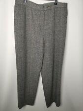 ORVIS Ladies 100% Wool Trousers Size 16 Smart Work Career