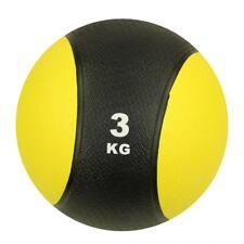 Carnegie MedBall 3 - Medizinball, Fitnessball, Gewichtsball, 3kg, voll gummiert,