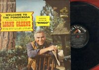 Greene, Lorne - Welcome To The Ponderosa Vinyl LP Record Free Shipping
