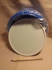 Tupperware Peng-Schüssel in blau mit weißem Deckel, 3 Liter