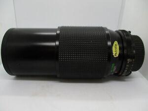 VINTAGE HOYA/VIVITAR N 62mm ZOOM CAMERA LENS #28010067 60-200mm 1:4.5 c.1985 VGC