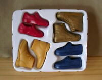 Barbie KEN DOLL Shoe Pack 4 PAIR For Original Model Muse Fashionistas Brand New!