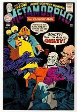 METAMORPHO #17 - VF/NM DC 1968 Vintage Comic