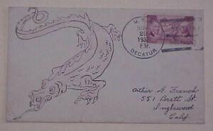 CHINA  DRAGON CACHET on USS DECATOR NORFOLK 1937 NOV 22