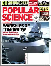 Popular Science - 2008, March - Warships of Tomorrow, 50 Green Cities, Privacy