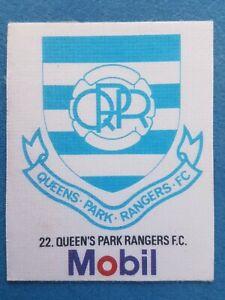Mobil Football Club Badges Silk 1983 Queens Park Rangers
