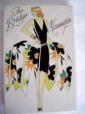"Art Deco Very Rare Large Stand-Up Bridge Tallies -""The Bridge Mannequin"" Party *"