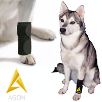 Dog Canine Brace Paw Compression Wrap With Straps Sleeve Protects Wounds