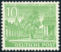 BERLIN, MiNr. 47 II, gute Type, tadellos postfrisch, gepr. Schlegel, Mi. 80,-