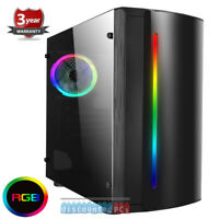 AMD 9700 Quad Core 3.5ghz  16GB 1TB Desktop Beam Gaming PC Computer R7  so16
