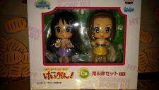 RARE K-on! Ichiban Kuji Kyun Chara World SP Prize C Mio & Ritsu Figure Set