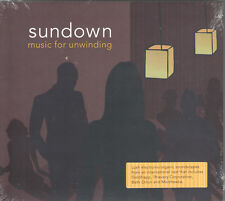 Sundown: Music for Unwinding by VA (CD, Starbucks) Lush Electronic Collection
