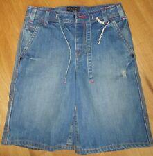 Billabong shorts boy blue denim 9-10 y BNWT jeans
