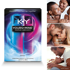 KY Jelly Lubricant Water Based Personal Warming Lube For His And Hers Sensations