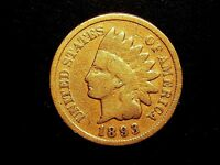 1893 INDIAN HEAD CENT #10