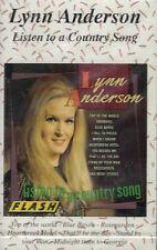 MUSICASSETTA -  LYNN ANDERSON - LISTEN TO A COUNTRY SONG   sigillata         (8)