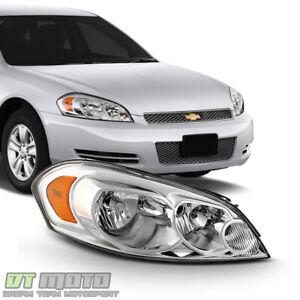 2006-2013 Chevy Impala Headlight Headlamp Replacement 06-13 Right Passenger Side
