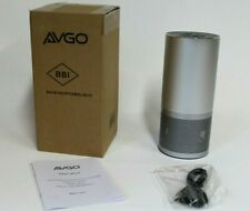 Avgo 4NOP5XMSL0010 Wi-Fi Bluetooth Speaker w/ Amazon Alexa Voice Control- Silver
