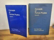 Concepts Of Particle Physics Weisskopf Gottfried Complete 2 Vol. Clarendon Press